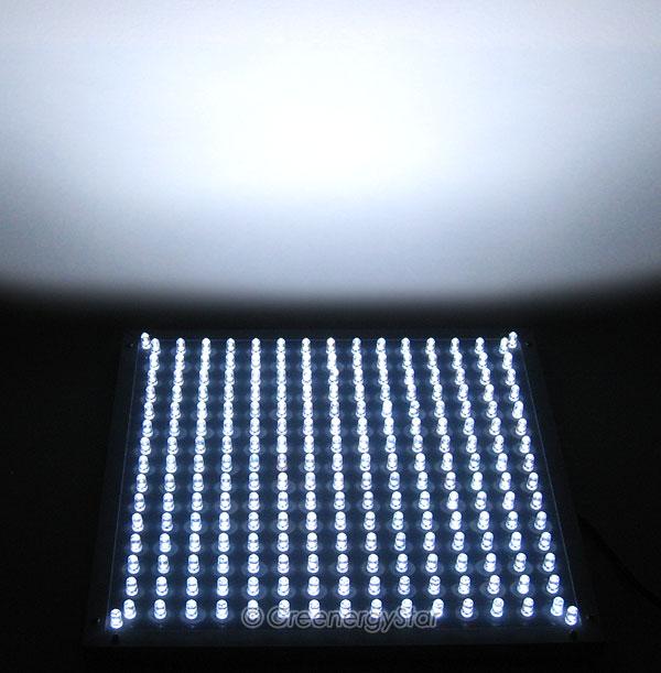 16w 229pcs White Led Grow Light Panel 100v 240v 50 60hz
