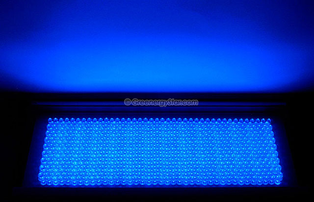 30w 711pcs Blue Led Grow Light Panel 100v 240v 50 60hz